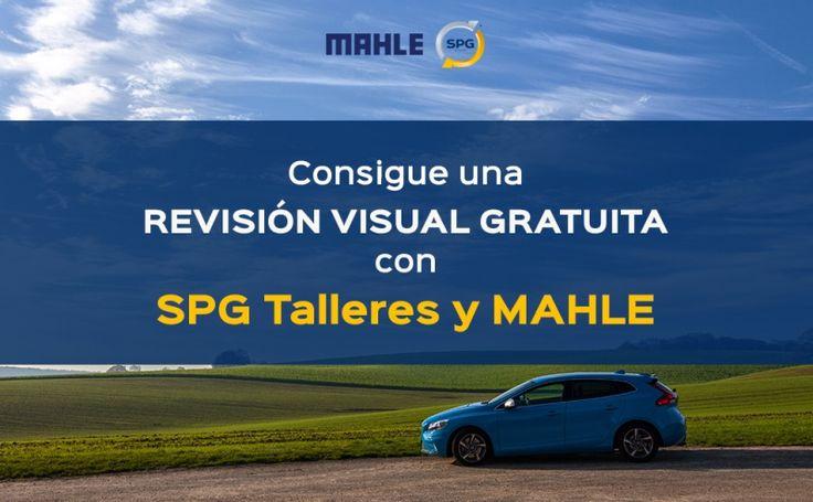 Cambia con MAHLE y SPG talleres el filtro de aceite y llévate una revisión visual gratis Los talleres de coches SPG te ofrecen tu primera revisión visual sin coste alguno gracias a los aceites MAHLE.