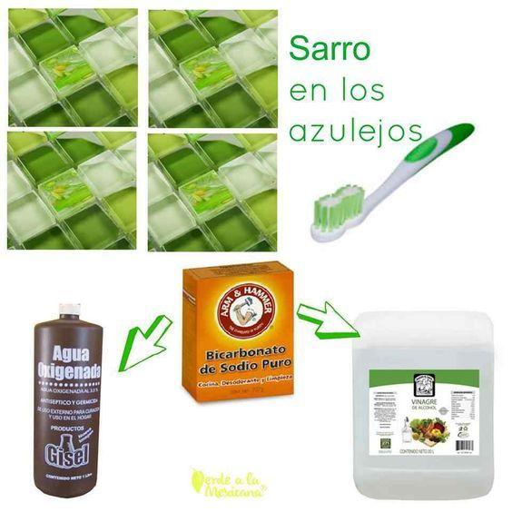 Cómo quitar el sarro en los azulejos sin químicos tóxicos
