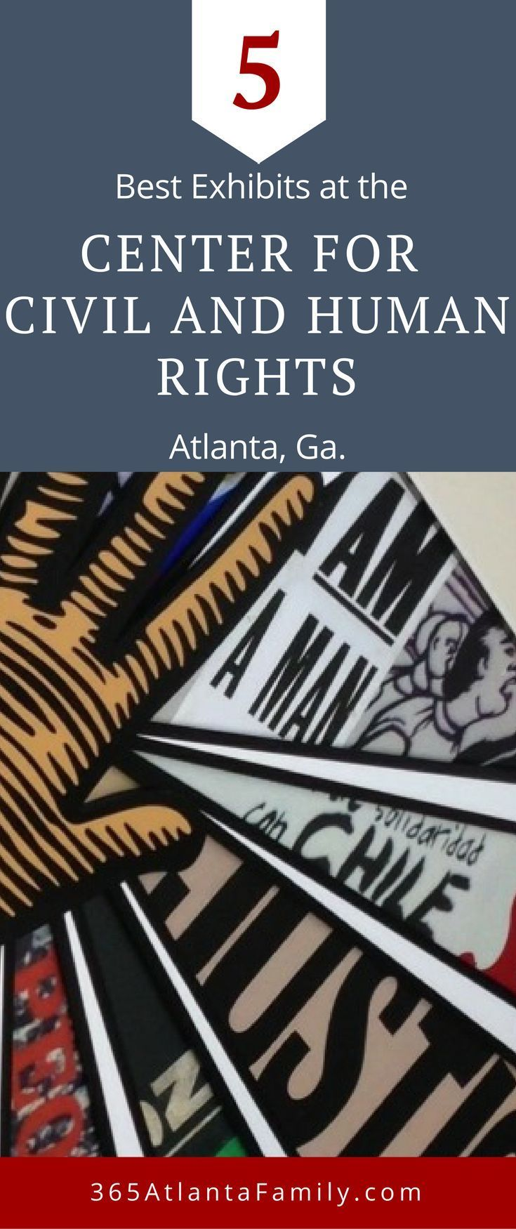 the 5 best exhibits at the center for civil and human rights rh pinterest com
