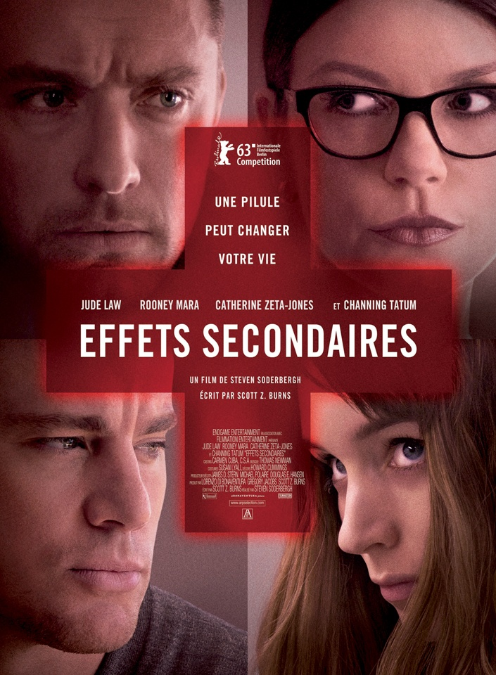 Effets Secondaires  Un film de Steven Soderbergh avec Jude Law, Rooney Mara, Catherine Zeta-jones and Channing Tatum