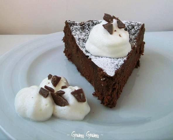 Torta al cioccolato senza farina | Ricetta facile