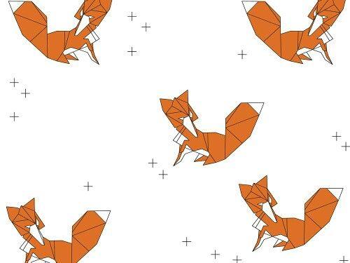 """Grafika z katalogu """"Zwierzęta"""" - Liski  http://cottonbee.pl/tkaniny/zwierzeta/3472-liski.html"""