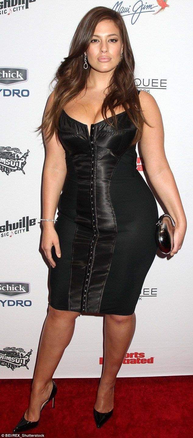 6f7c43325d3 Ashley Graham made history after becoming the first plus-size model to  feature in Sports Illustrated