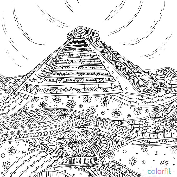 Find This Pin And More On Coloring Buildings City By Barbara