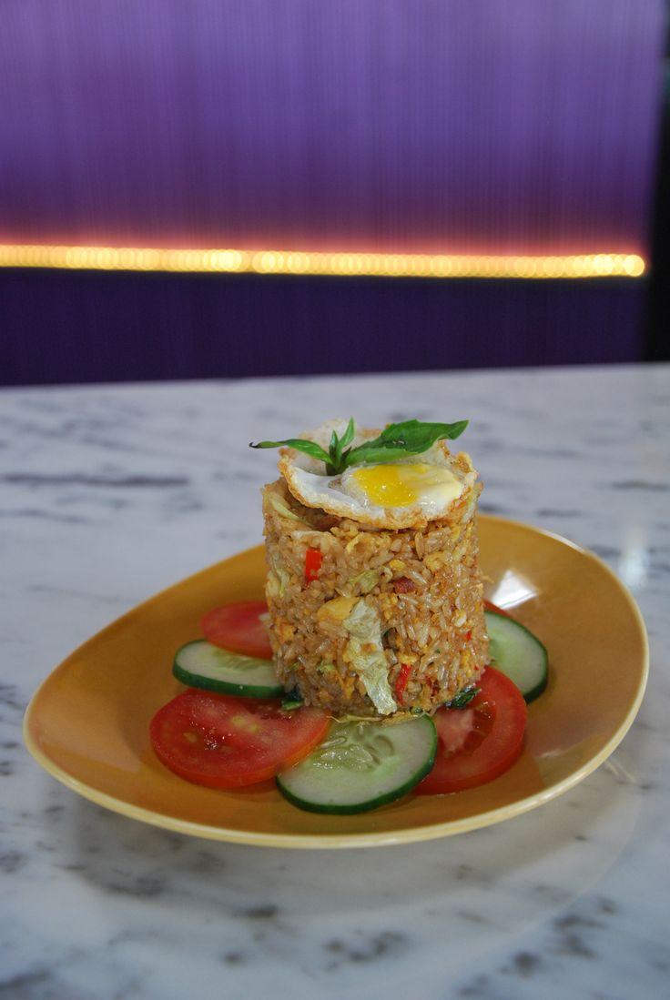"""Nasi Goreng"" Indonesian Traditional Stirfried Rice with Chcken"