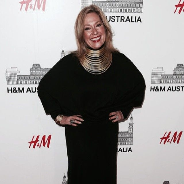 LAURA ANDERSON WEARS CAUSE TOP | H&M LAUNCH #h&m #olum @chairmanmff #christinaexie
