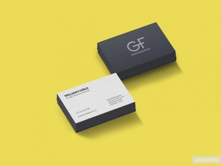 Визитки для серьезных людей / Визитки / Yagiro - сайт о дизайне и для дизайнеров