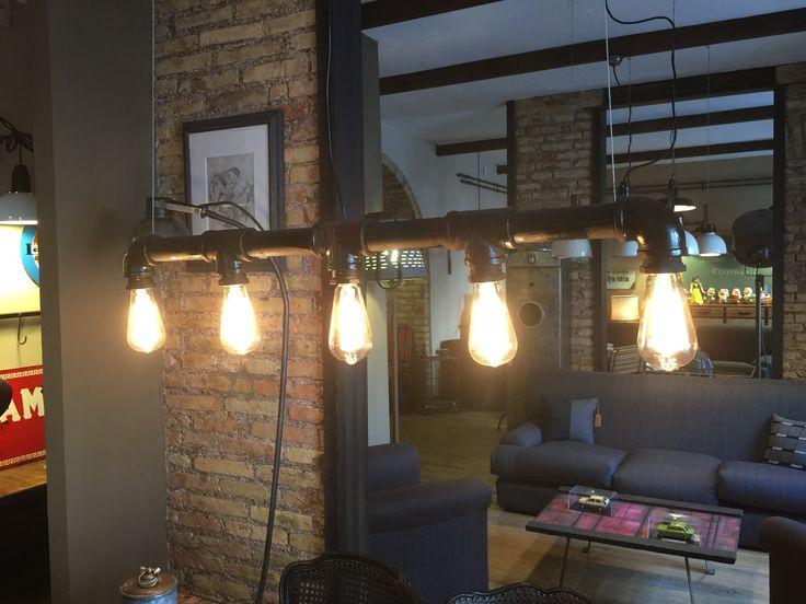 Più di 25 fantastiche idee su Lampade Industriali su Pinterest  Lampada tubolare, Lampade da ...