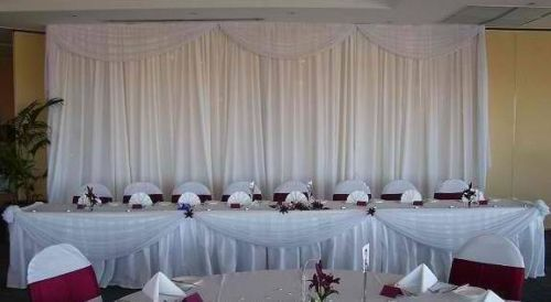 2-8m-x-6m-White-Wedding-Backdrop-Curtain-With-Draping-Polyester-Crystal-Organza