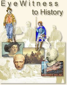 Eyewitness to History is a site that lets students select a period in history and see personal stories of people from the time. A nice combination of a great deal of information and many historical photos and drawings that bring learning to life.
