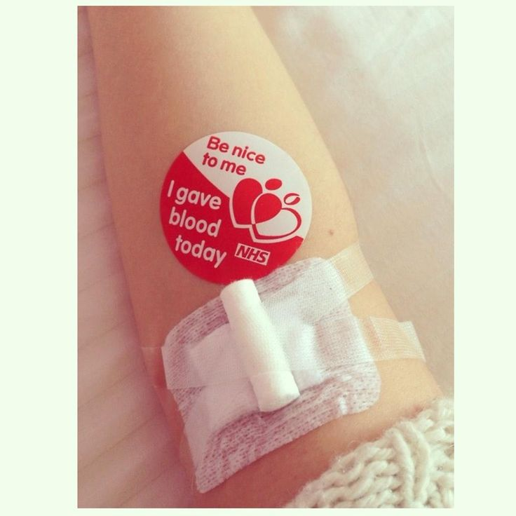 1st donation I encourage everyone to go do it @GiveBloodNHS
