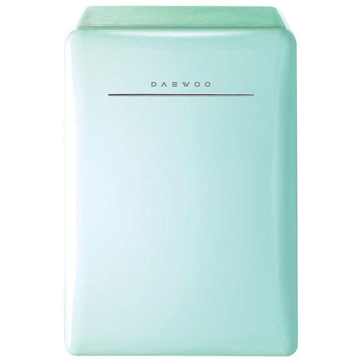 2.8 Cubic Ft Mini Fridge Retro Compact Refrigerator Dorm Garage Hm Office Green #Daewoo