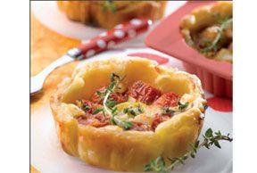 Tomaat-Mozzarella tartelettes
