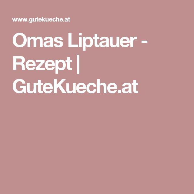 Omas Liptauer - Rezept | GuteKueche.at
