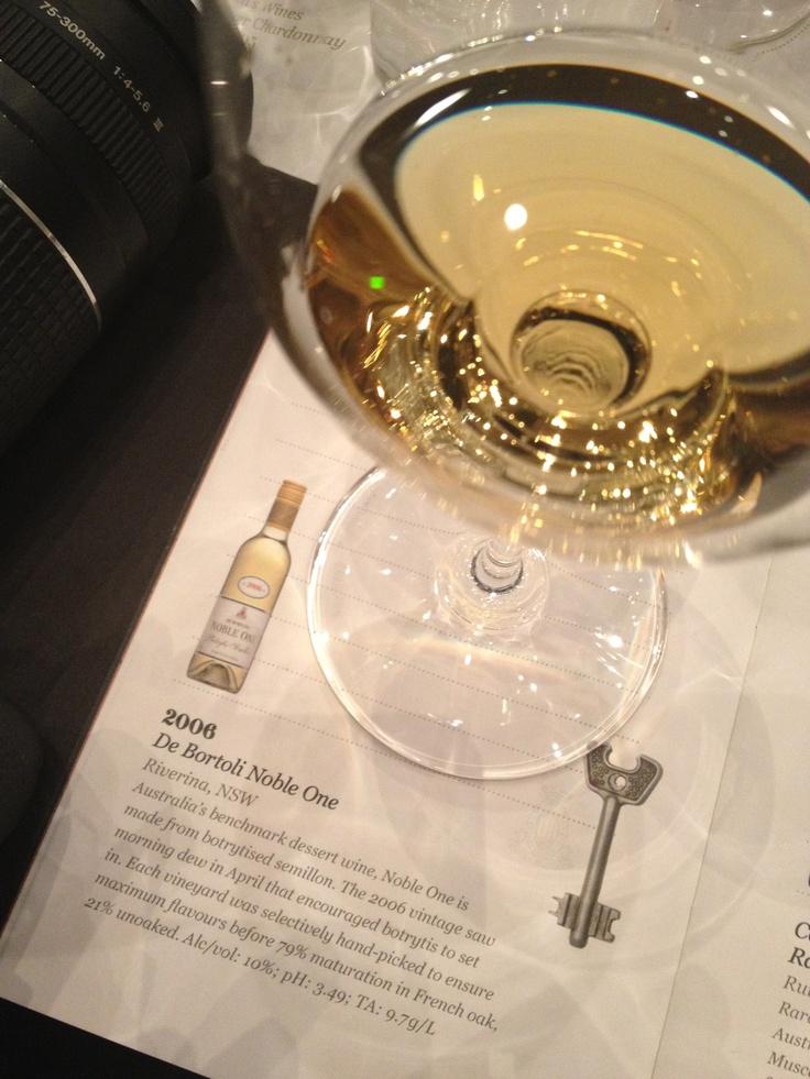 Love the De Bortoli Noble One #wine #affwunlocked