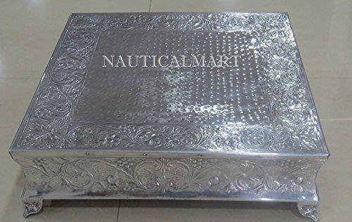 Nauticalmart Beautiful Silver Finish Wedding Cake Stand N... https://www.amazon.co.uk/dp/B01IKKQLOK/ref=cm_sw_r_pi_dp_x_qCD6zb5XNZG1K