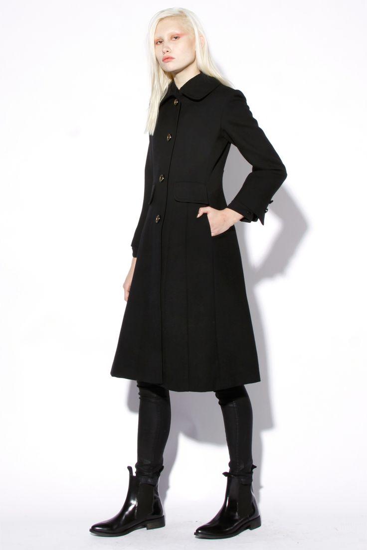 343 best Fashion: wool drape coats images on Pinterest