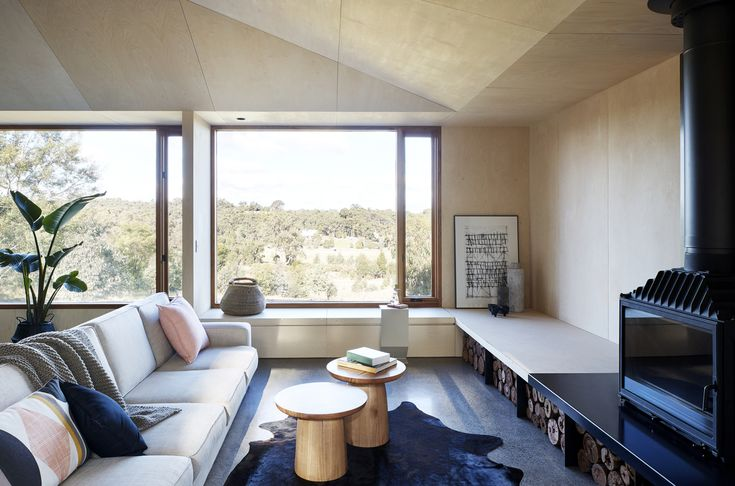 Two Halves House By Moloney Architects Indaylesford Region, Vic, Australia (10)