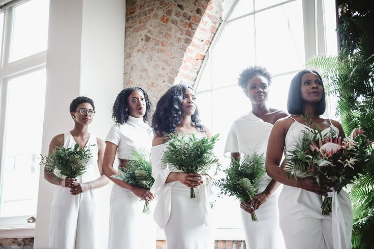 These Solange-Inspired Wedding Photos are Chic AF