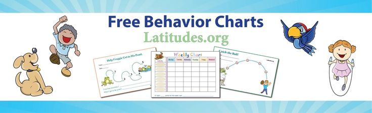 FREE Printable Behavior Charts for parents and teachers. For boys and girls, from potty charts to school work, chore charts, reward charts, sticker charts, and more! Kids of all ages love em! For use at home and school.