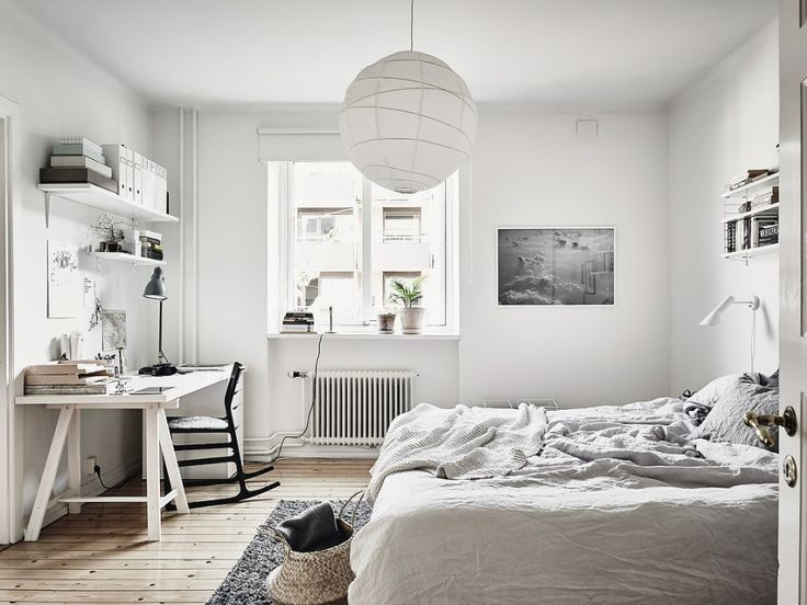 Cozy home with a brick wall - via cocolapinedesign.com