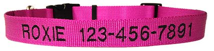 Embroidered Dog Collars is the best choice for personalized embroidered pet ID collars for dogs and cats!For more info visit http://www.embroidered-dogcollars.com/