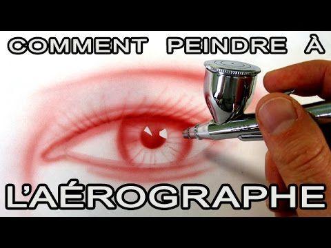 L'aérographe, l'outil qu'il vous faut !   Techniques de peintre