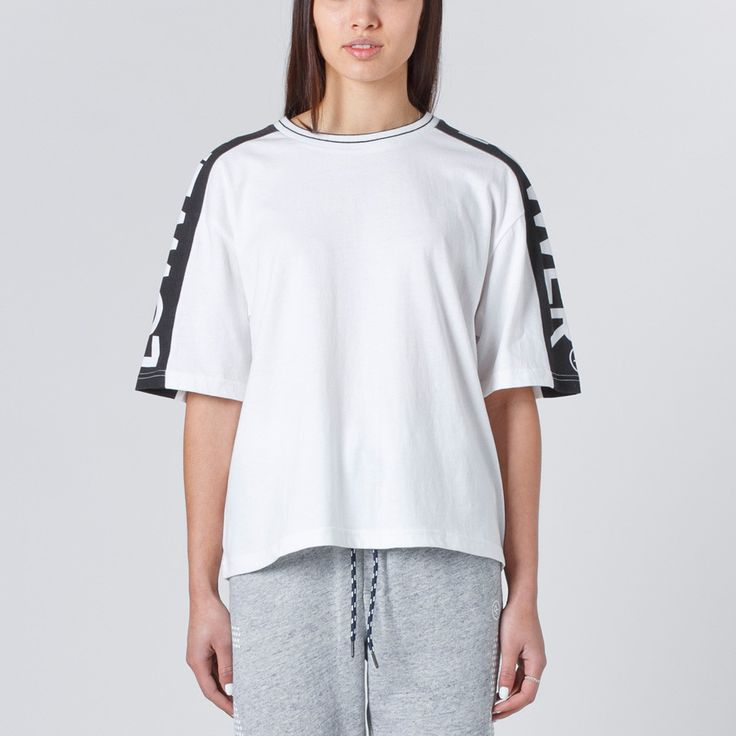Lower Sports Tackle Tee - White