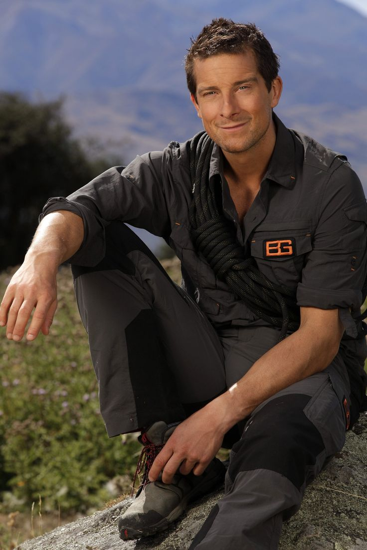 Bear is back! REPIN if you're tuning in on Monday, July 8 for Get Out Alive with Bear Grylls!