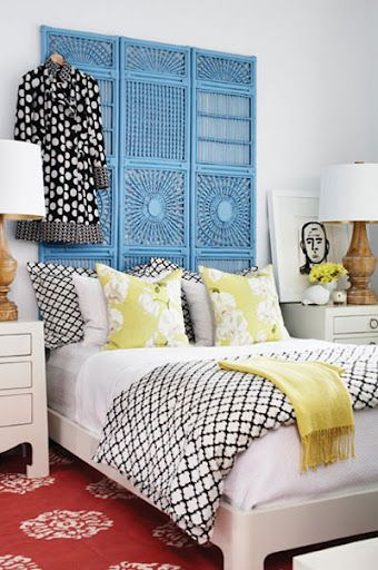 25+ Best Ideas about Room Divider Headboard on Pinterest