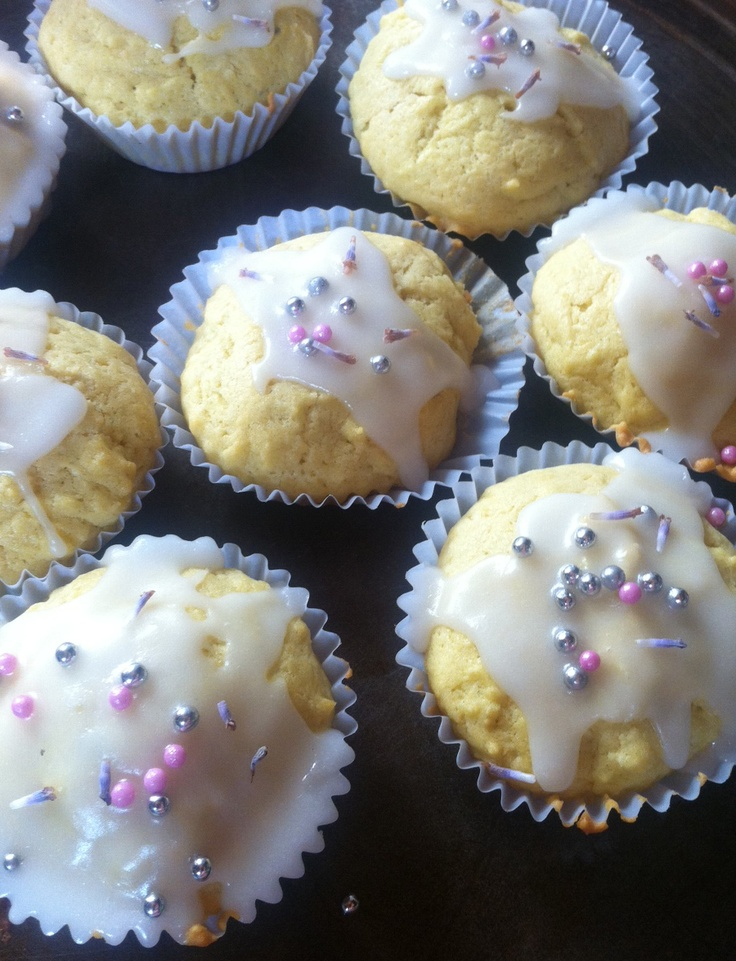Lavender cupcakes by Missy & Mummy x