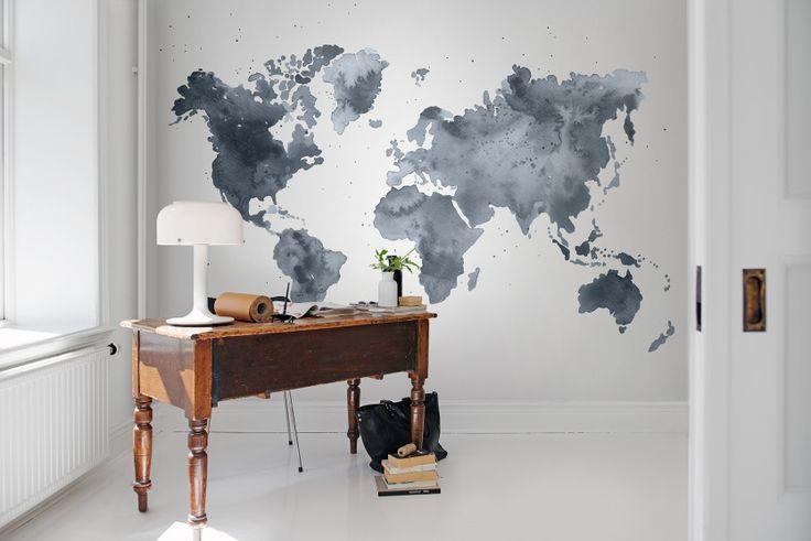 Hei,+katso+tätä+Rebel+Wallsin+tapettia,+Dusky+World!+#rebelwalls+#Tapetti+#Kuvatapetit
