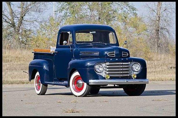 restored 1950 ford truck fl0112 120610 dream. Black Bedroom Furniture Sets. Home Design Ideas