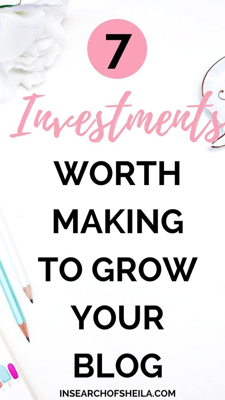 Are you struggling to grow your blog? Are you ready to put more time into it to see some real organic growth? Wondering what are best investments worth making for beginner bloggers? If you're ready to grow your audience and start making money from your bl