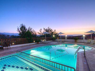 Rethymno villa rental - Villa EleniChildren pool as well!