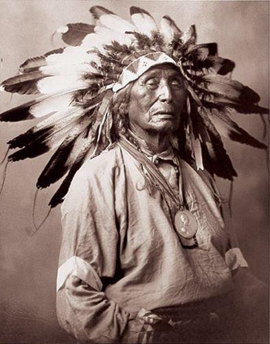 Chief Red Arrow (Lakota) by Hastiin Tilden, via Flickr