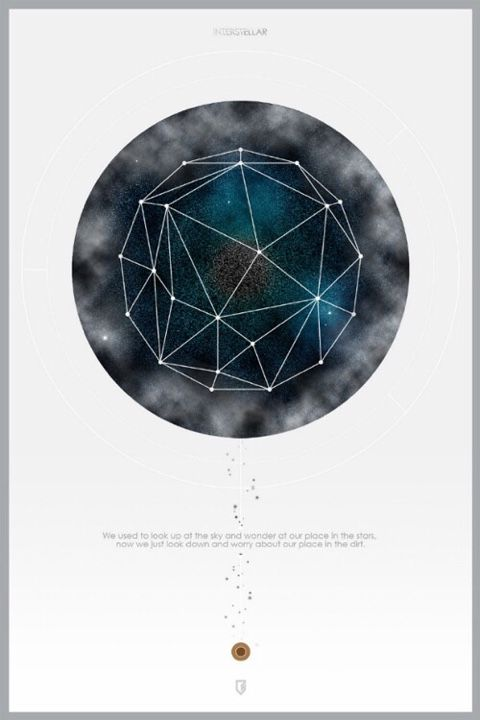 Best Movie Poster Images On Pinterest Movie Posters Art And - Beautifully designed interstellar posters james fletcher