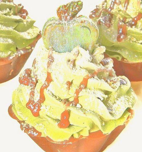 Apple Caramel Crunch Handmade Artisan Soap Cupcake