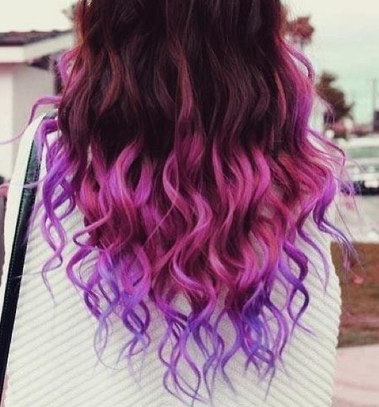 Purple Hair Ends Www Imgkid Com The Image Kid Has It