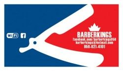 Barber Kings logo Barber King$ Pinterest Logotipos y Barberos
