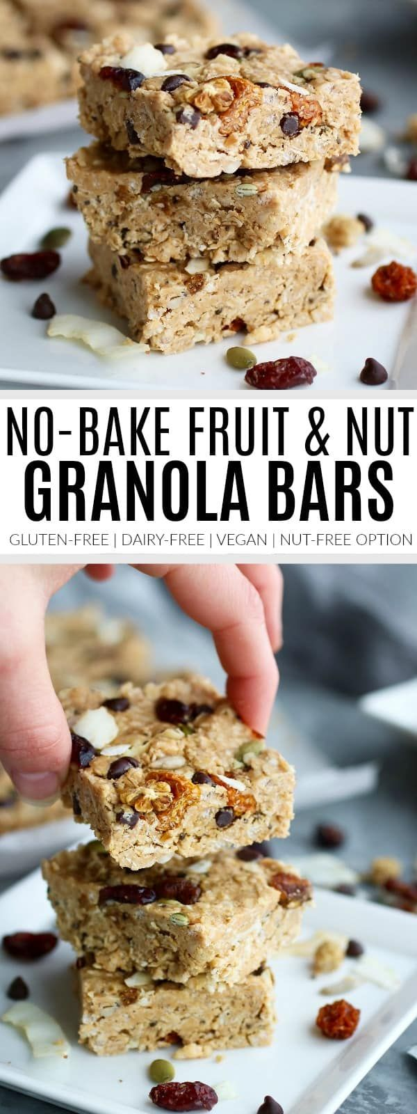 Made with just 7 ingredients, No-Bake Fruit & Nut Granola Bars are quick to make, budget-friendly and great for lunch boxing & afternoon snacking. A gluten-free recipes that's prepared in less than 10 minutes.