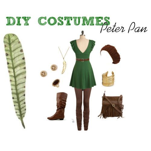 Lost Girl Peter Pan Costume | Female Peter Pan Costume I wanna be that for halloween