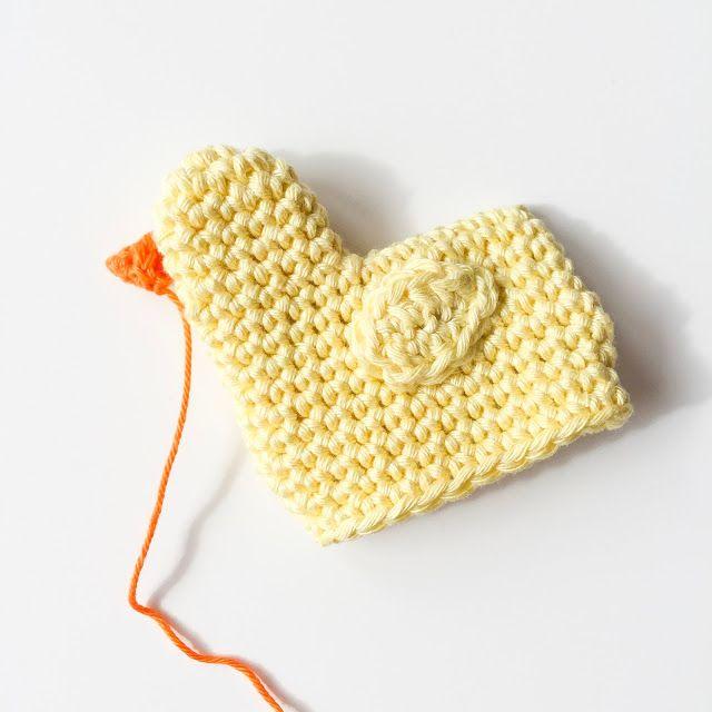 Un guide pour les poussins au crochet comme chauffe-œufs pour Pâques | ♥ Bonbons au sucre  – Hühner