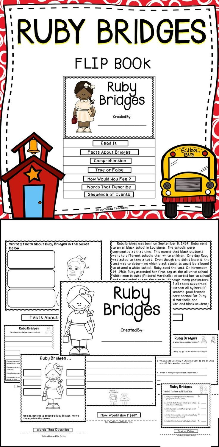 thesis statement for ruby bridges This activity helps students develop a strong thesis statement for their essays by  this activity helps students use thesis statements, bridges and leads to.