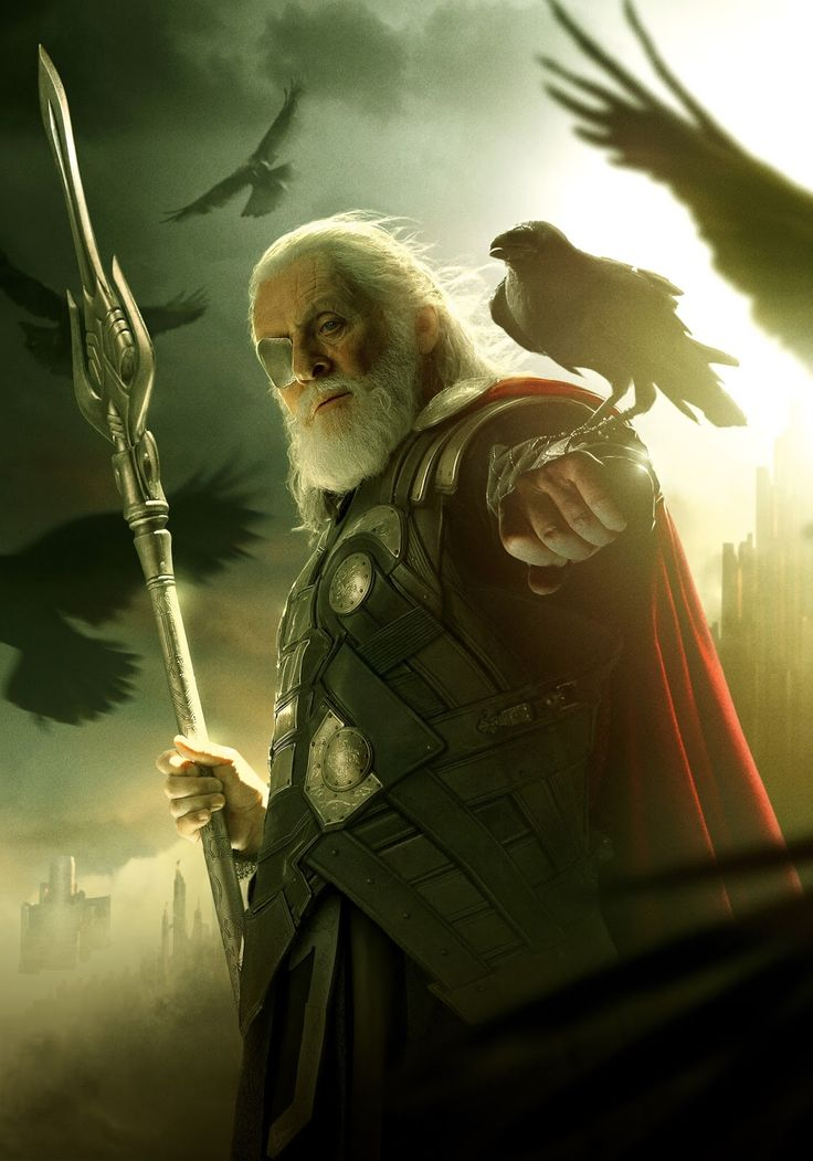 Odin - from the Marvel Thor movies - Odin is awesome.