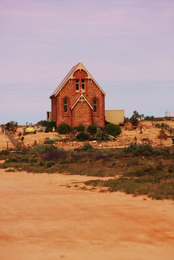 Broken Hill NSW Australia Silverton old church