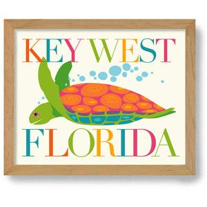 Sea Turtle Beach Decor Key West Florida Beach House Art Tropical Decor Florida Home Dexmex Beach The