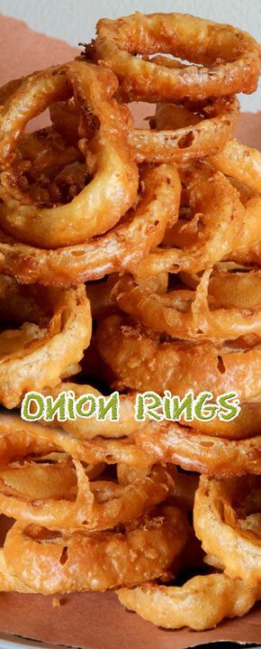 Easy Onion Rings Recipe. #CompleteRecipes #recipe #recipes #food #foodgasm #cleaneating #healthyfood #healthy #healthyrecipes