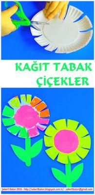 Şekerli Balon: Çiçekler