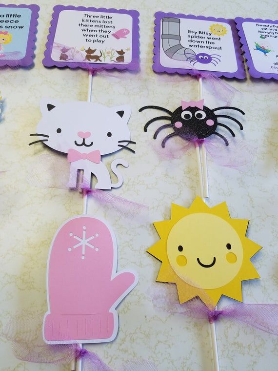 Nursery Rhyme Centerpiece Sticks Nursery Rhyme Happy Birthday Banner Nursery Rhyme Baby Shower Decorations Nursery Rhyme Party Nursery Rhyme Baby Shower Decorations Nursery Rhyme Party Nursery Rhyme Baby Shower